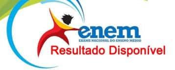 Resultado do ENEM 2012 está disponível